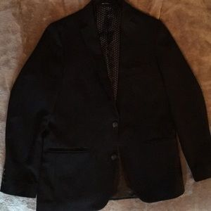 Haggar Slim Fit Black Suit Jacket